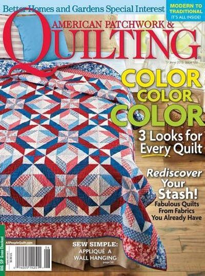 American Patchwork Magazine - american patchwork quilting magazine subscription