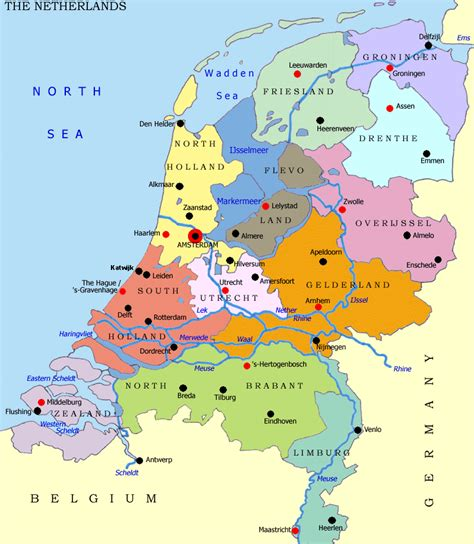 netherlands map in europe educated netherlands and what are