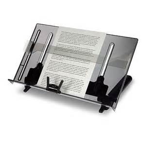 document holder for desk vision vu 18 quot in line document holder vur18dc
