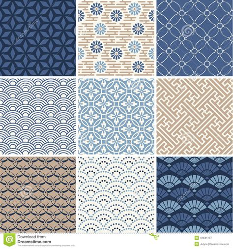 japanese pattern eps japanese vector patterns