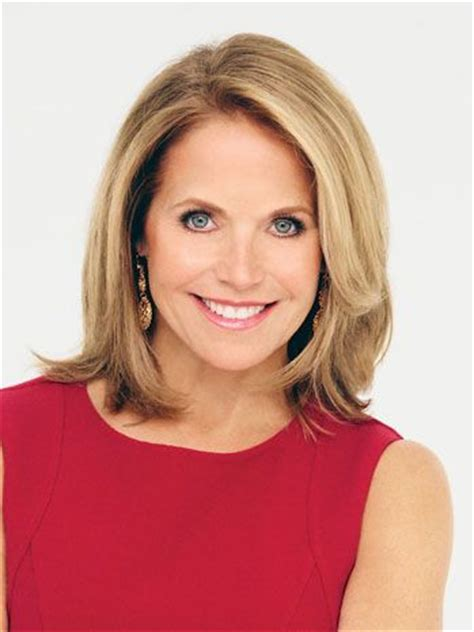 hairstyles of katie couric katie couric hairstyles hair tips pinterest