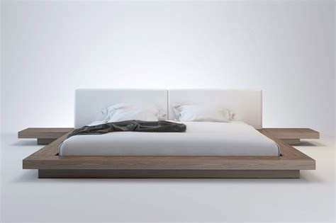 Japanese Platform Bed Frame Arata Japanese Platform Bed Haikudesigns