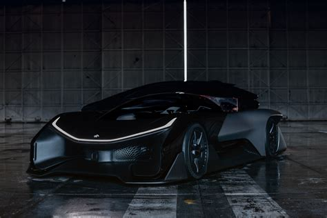 ffzero1 an electric car of concepts faraday future