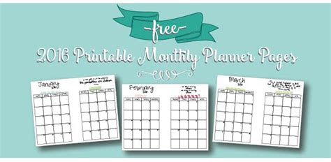 february 2018 calendar free printable live craft eat free printable 2016 monthly calendar a5 pages live craft eat