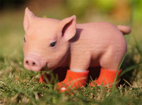 3d Piglet piglet in boots hurd9wds6 by ericho