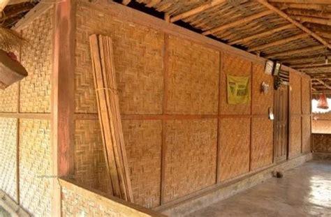 anyaman bambu motif  harga terbaru november