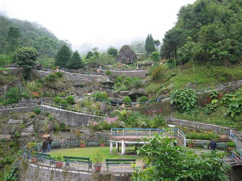Darjeeling Rock Garden Fresh Air Open Area And Flowers The Barbotey Rock Garden