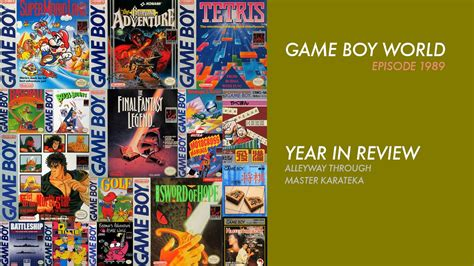 layout youtube game boy game boy world 1989 year in review youtube