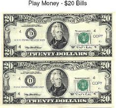 free printable play money the love of freebies free