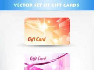 Fancy Gift Card - romantic gift cards templates free vectors ui download