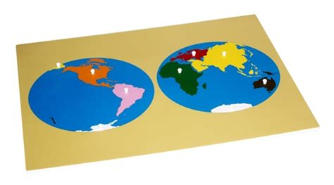 printable montessori continent map montessori materials puzzle map of the world