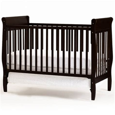 Graco Crib by Graco 4 In 1 Convertible Crib In Espresso Free Shipping