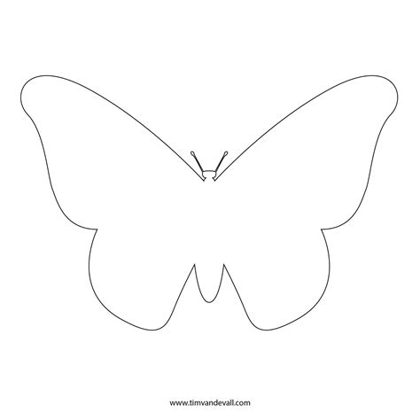 kindergarten butterfly pattern download coloring pages butterfly template free fresh at