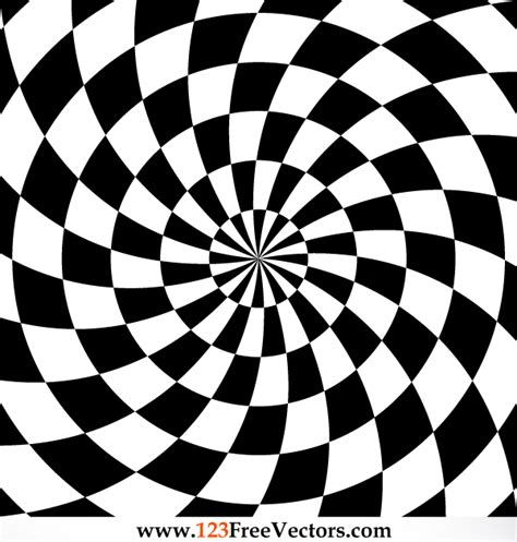 ilusiones opticas hechas a mano optical illusions vector by 123freevectors on deviantart