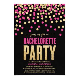 bachelorette invitations announcements zazzle