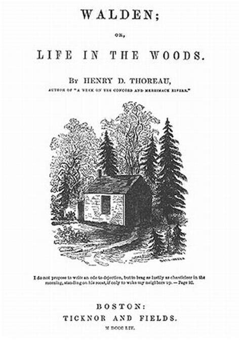 walden pond book quotes walden pond by henry david thoreau text ebook