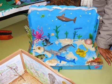 como hacer una maqueta del oceano ecosistemas acuaticos maquetas buscar con google laura