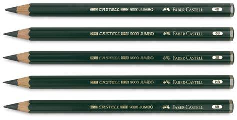 Pensil Serut Hb Faber Castell faber castell 9000 jumbo pencils blick materials