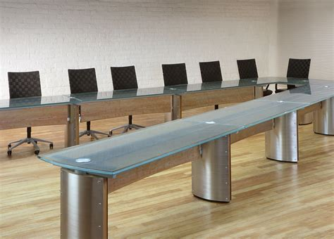 V Shaped Conference Table Crescent V Shaped Conference Table Stoneline Designs
