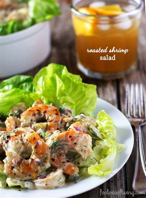 ina garten s shrimp salad barefoot contessa roasted shrimp salad foolproof living