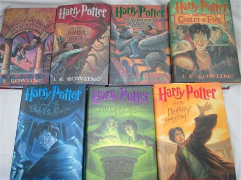 7 Reasons Harry Potter Books by Harry Potter Book Covers 1 7 Www Pixshark Images