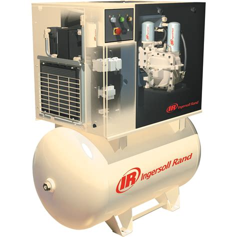 free shipping ingersoll rand rotary compressor w total air system 230 volts single