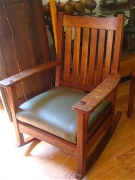 stickley mission style rocking chair l stickley rocking chair sr pinteres