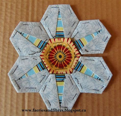 tutorial paper piecing quilting faeries and fibres tutorial making a hexagon star my way