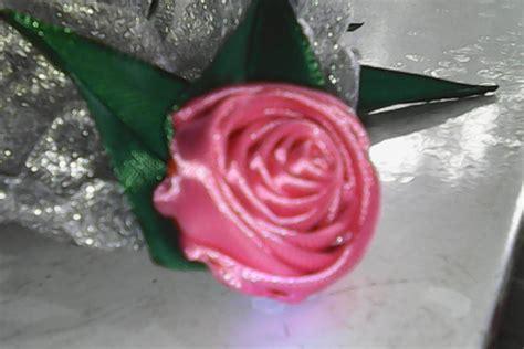 membuat puisi bunga mawar diy cara membuat bunga mawar dari pita satin how to make