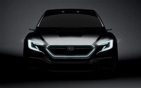 Sporty Subaru by Subaru Teases Sporty Sedan Concept For 2017 Tokyo Motor Show