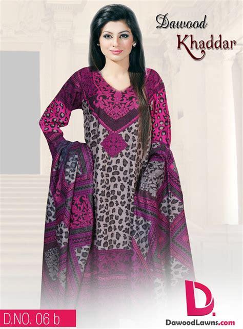 eid ul azha dress design 2015 dawood textiles latest winter wear khaddar chiffon dresses