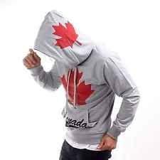 Lq Sweater Top Hodie Flag canada flag retro vintage printed hoodie sweater hooded new sweatshirt top 688 purchase