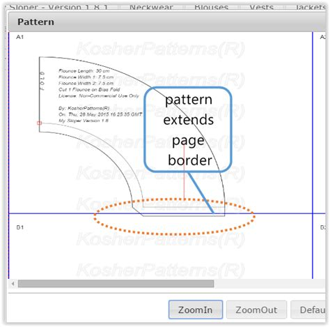 orientation landscape html how to draw pattern using landscape or portrait page