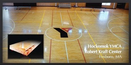 neoshok red athletic floor system installation repairs  england sports floors