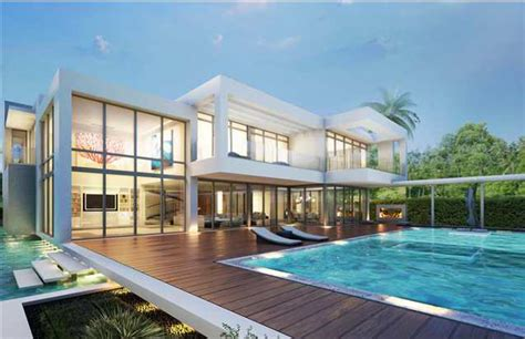 modern mansion proposed 32 million modern mansion on miami beach s island homes of the rich