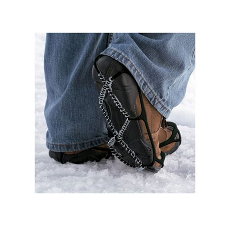 cadenas zapatos cadenas yaktrax walker para zapatos peregrinoteca
