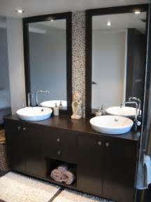 modern bathroom remodel ideas bathroom modern bathroom design ideas with wood vanity unit and two curved wash basin and