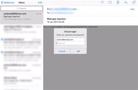 apple email login bug in ios mail app allows harvesting apple ids