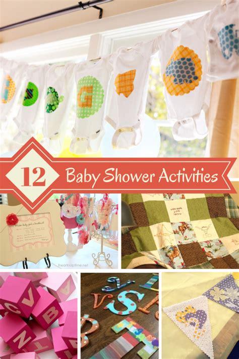 Great Baby Shower great baby shower activities design dazzle