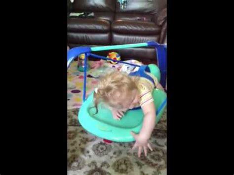 wingbo swing cri du chat baby in a wingbo tummy time swing youtube