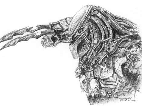 vs predator drawings predator drawing image drawing skill