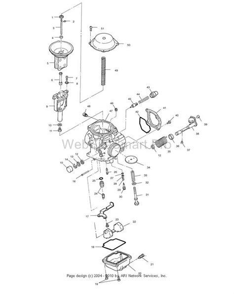 polaris sportsman 500 carburetor diagram i just bought a used 1999 polaris sportsman 500 4 stroke