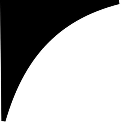 curve shape black womew curved shape clip art clipart best