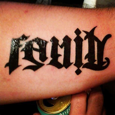 anagram tattoo designs anagram family tattoos family