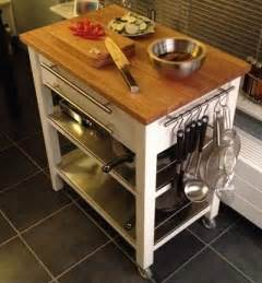 Kitchen Island Trolleys Stenstorp Kitchen Trolley Deluxe Ikea Hackers Ikea Hackers