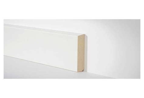 sockelleisten weiß holz hometrend holz sockelleiste 10x58 mm schr 228 ge kante weiss