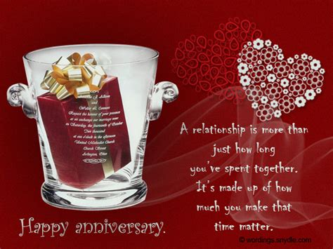 Wedding Anniversary Messages For Wordings by Wedding Anniversary Messages Wishes And Wordings