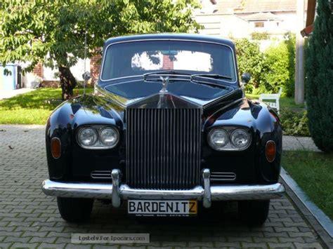 1967 rolls royce phantom v single 7 seater h plates