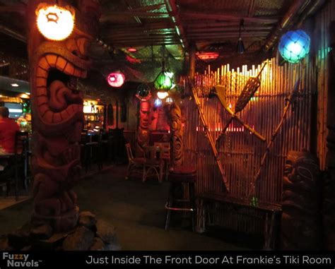 frankie s tiki room las vegas carved wood tikis fill frankie s tiki room in vegas fuzzy navels