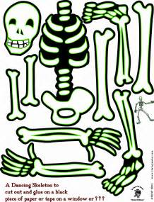 skeleton template to cut out best photos of skeleton bone template printable skeleton